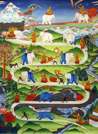 Budismo algunas caracter sticas del budismo una religi n - Mandamientos del budismo ...