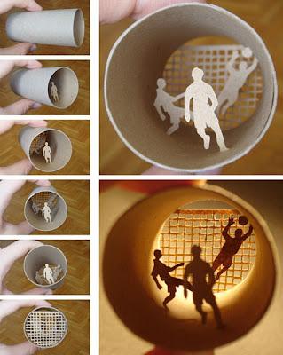 فن التشكيل من ورق المرحاض-منتهى