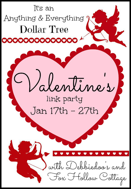 Valentine\'s Link Party {Dollar Tree Style} - Fox Hollow Cottage
