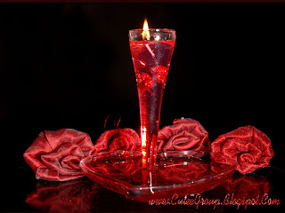Rose Candel Valentine