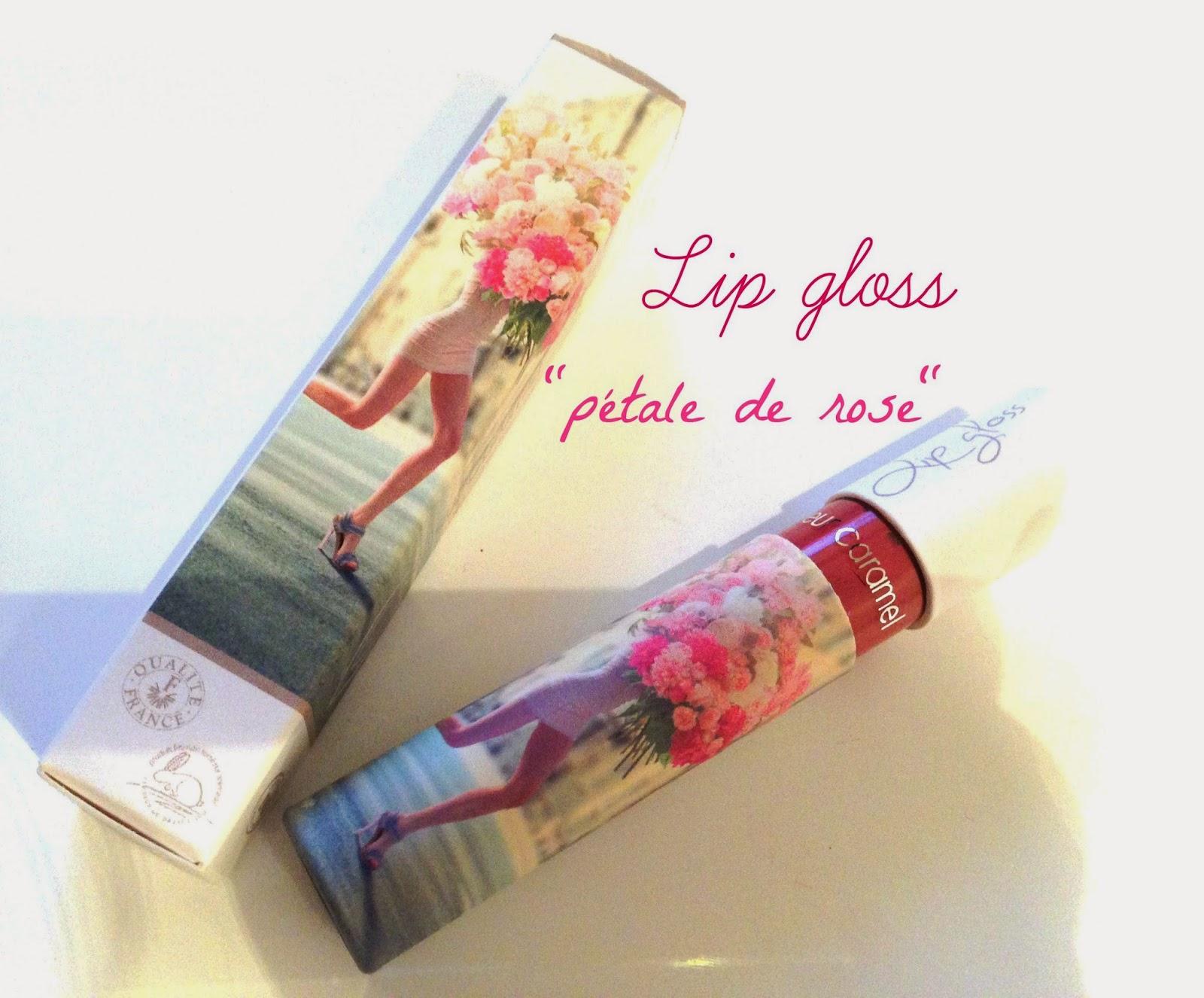 gloss couleur caramel