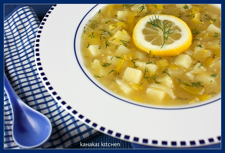 Leek Soup With Lemon And Dill Recipes — Dishmaps