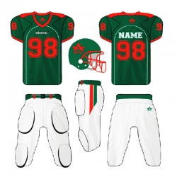 American football suit
