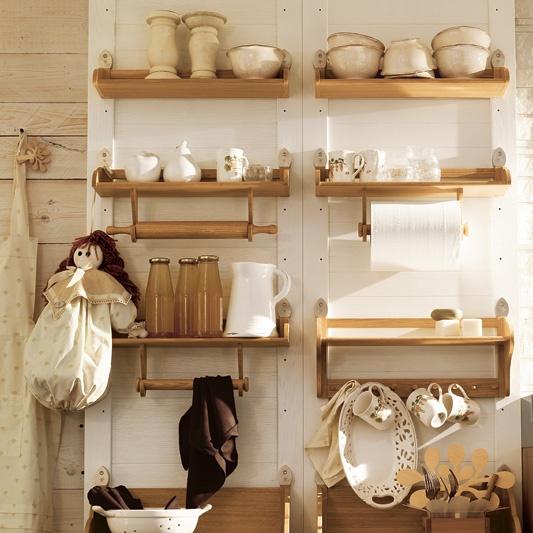 4bildcasa idee mensole e scaffali - Mensole per cucina ...