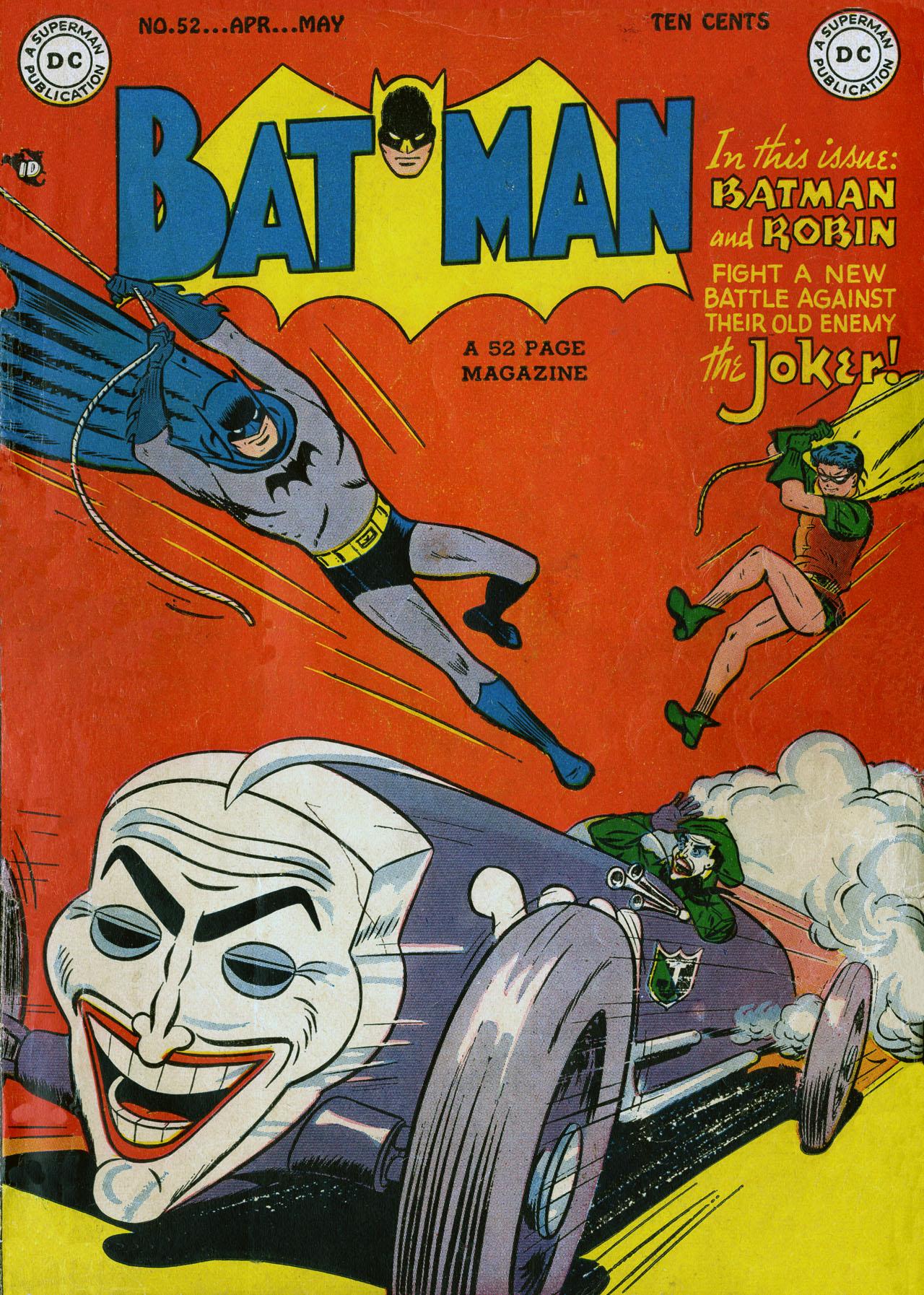 Batman (1940) 52 Page 1
