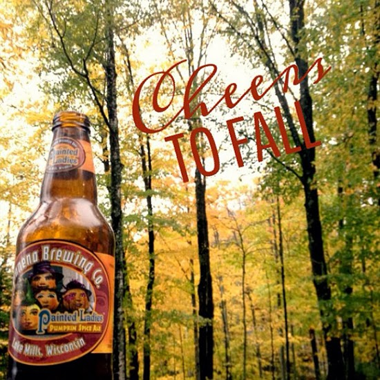 Cheers to Fall // Pumpkin Spice Beer