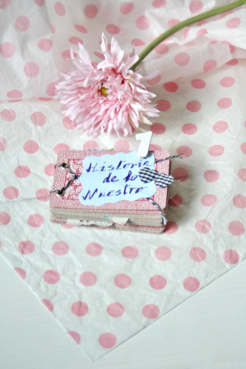 Mini lbum de scrapbook para san valentin diy hampton sc - Album para san valentin ...