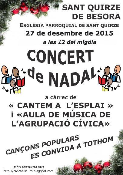 CONCERTS DE NADAL 2015