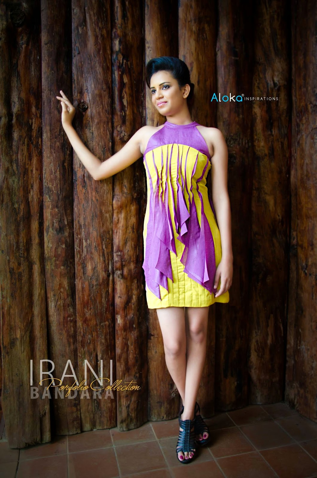 IRANI BANDARA Portfolio Designer wear Collection