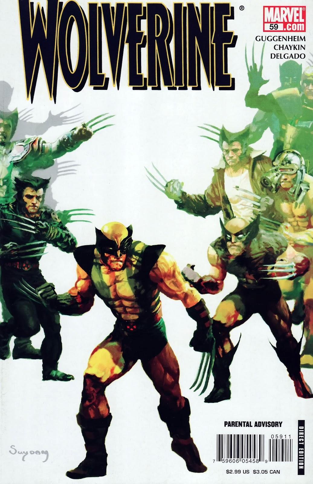 Read online Wolverine (2003) comic -  Issue #59 - 1