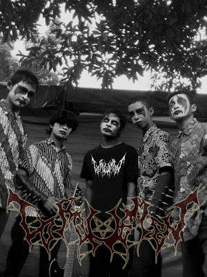 Loro Nemen Band Javenese Black Metal Wonosobo Logo Foto Personil Wallpaper