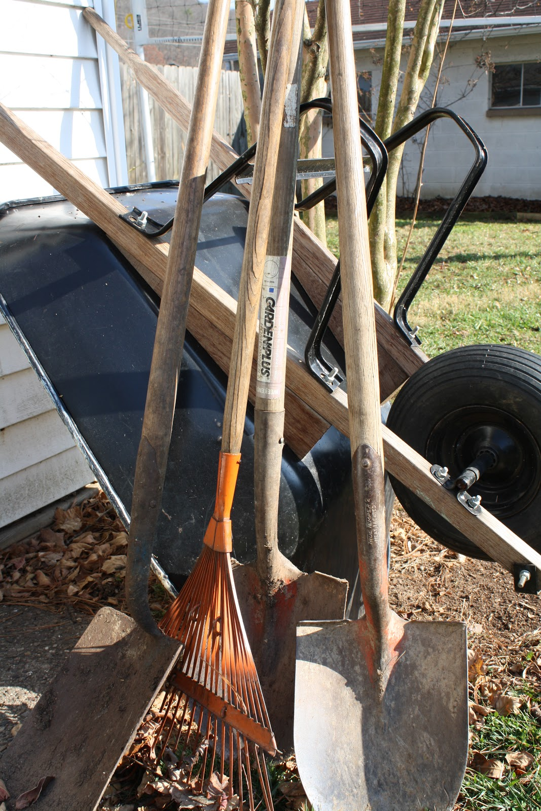 The redeemed gardener garden tool maintenance 101 for Garden tool maintenance