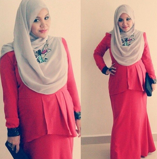 Pregnant Hijab Fashion