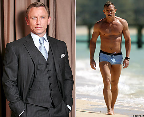 Daniel Craig James Bond Workout - Get A Body Like Daniel Craig In ...