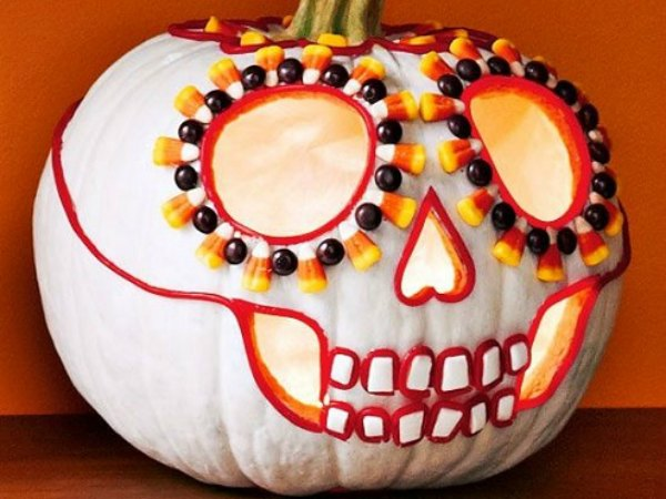 11 ideas para decorar calabazas de halloween trucos de - Calabazas decoradas para halloween ...