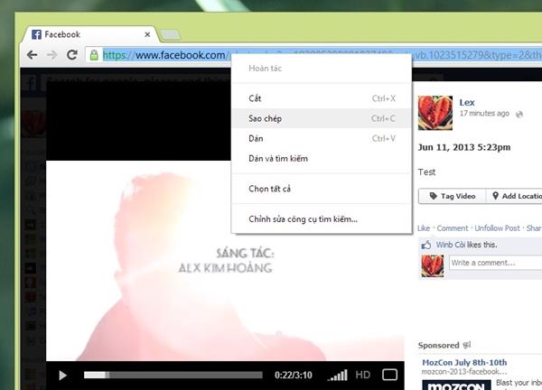 Tải video trên Facebook về xem Offline