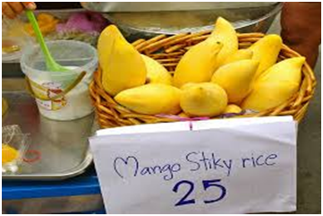 Thai Sweet Sticky Rice with Mango with Method of Cooking