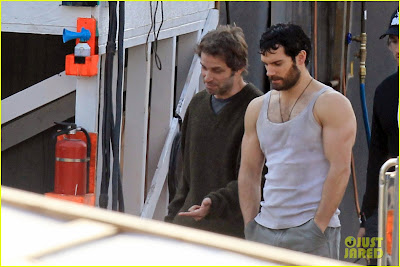 Henry Cavill Arms of Steel for 'Man of Steel'