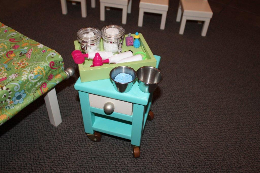 easy to make dollhouse furniture karen mom of threes craft blog brandys doll hospital play set