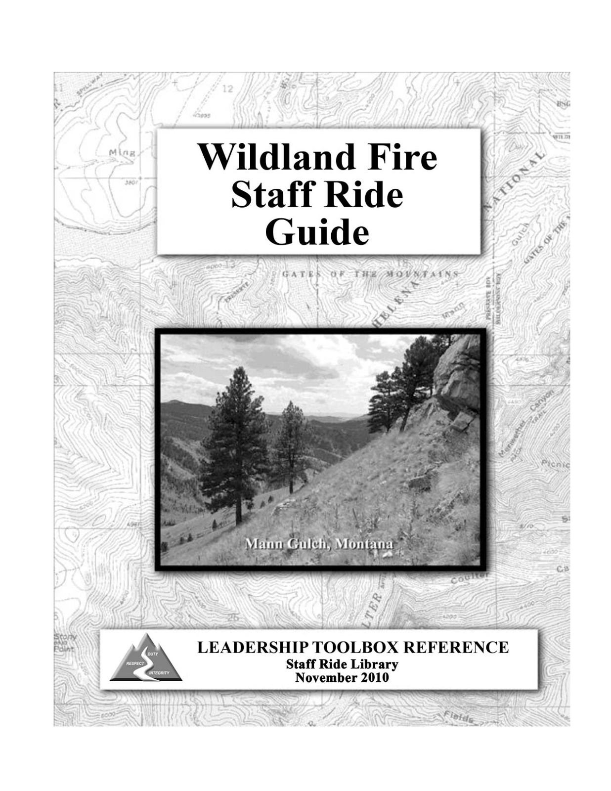 Wildland Fire Staff Ride Guide cover