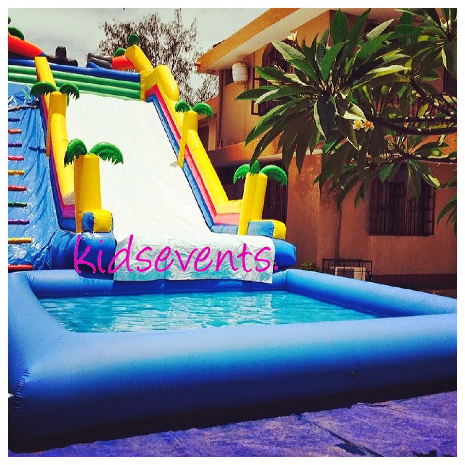 Kids Events Kids Parties Giant Water Slide