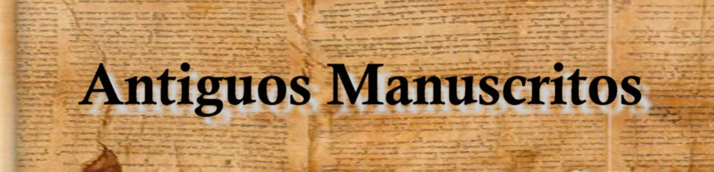 Antiguos Manuscritos