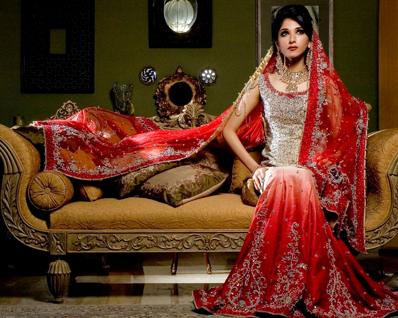 Latest pakistani bridal dresses collection 2013 angelic hugs for Asian bridal wedding dresses