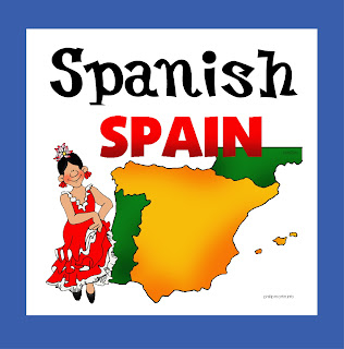 home school Spanish free printable for tot preschool and kindergarten
