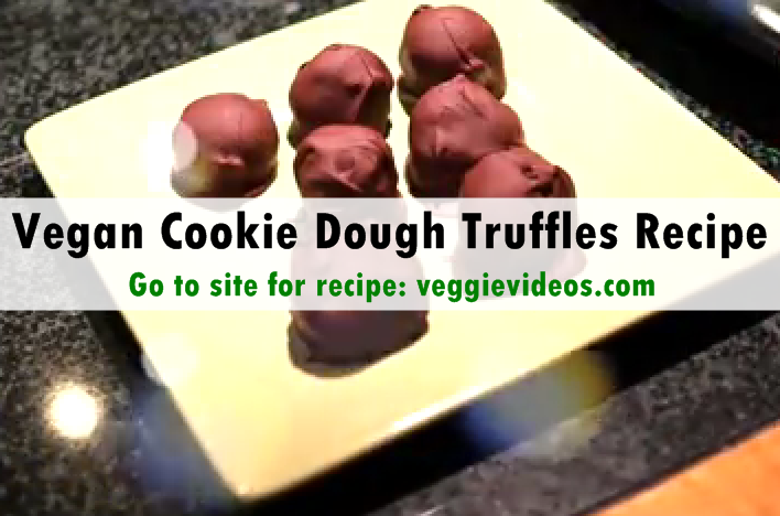 Vegan Cookie Truffles Recipe