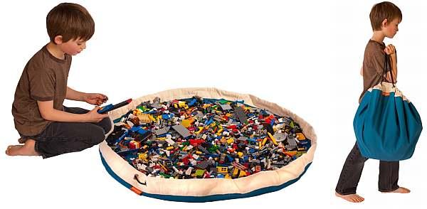 Сумка-коврик для лего