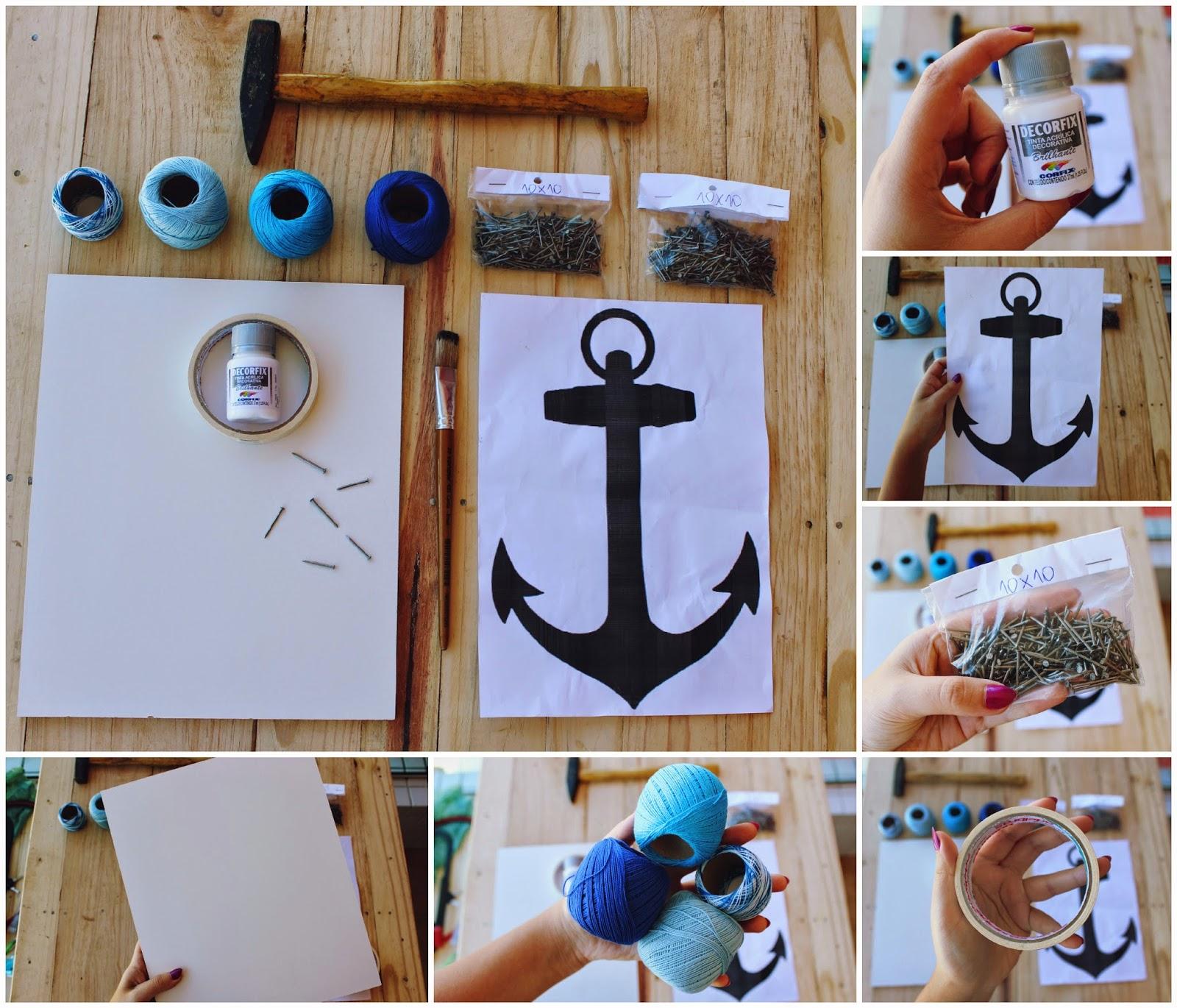 Blog Voyageur - String Art Quadro com pregos e linha