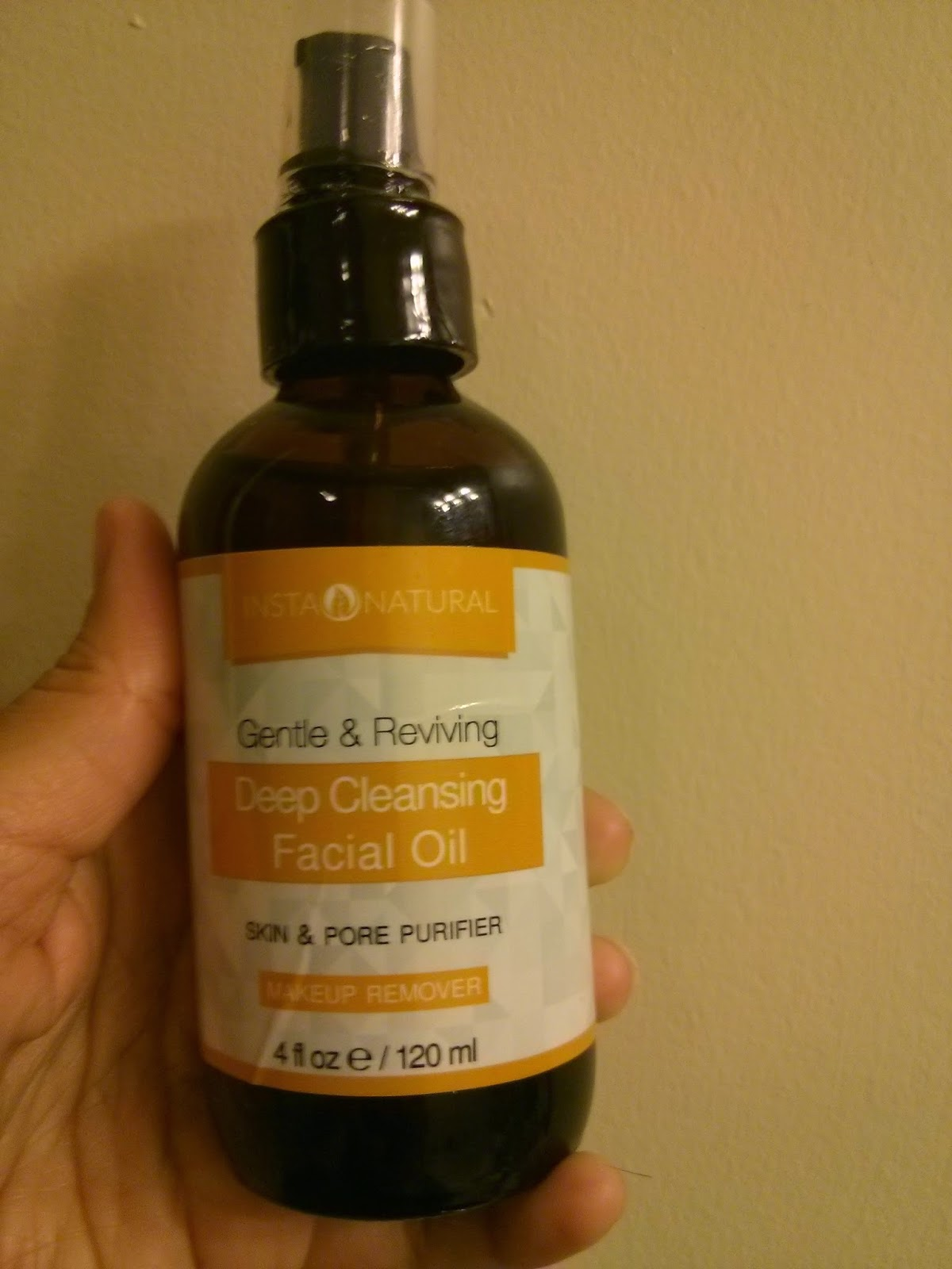 Facial deep cleansing oil products that