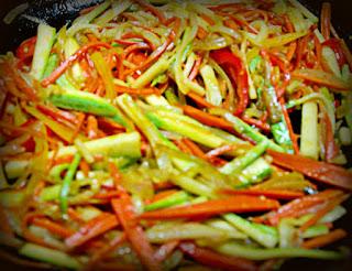 Cómo rehogar las verduras