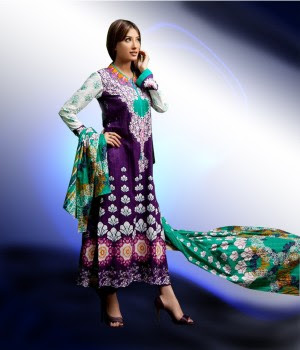 Latest Firdous Winter Collection 2011-12