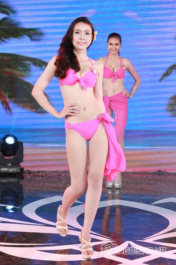 Ảnh gái xinh Hoa hậu miền bắc 2014 với bikini 29