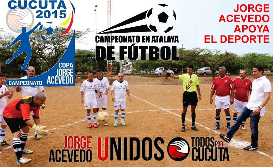 Jorge Acevedo apoya el deporte: Todos por Cúcuta