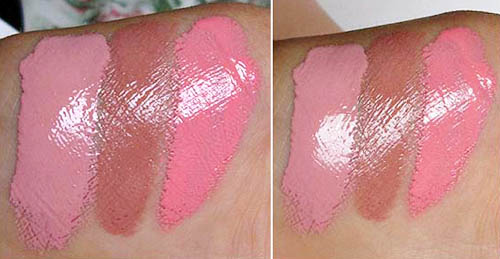 occ lip tar swatches