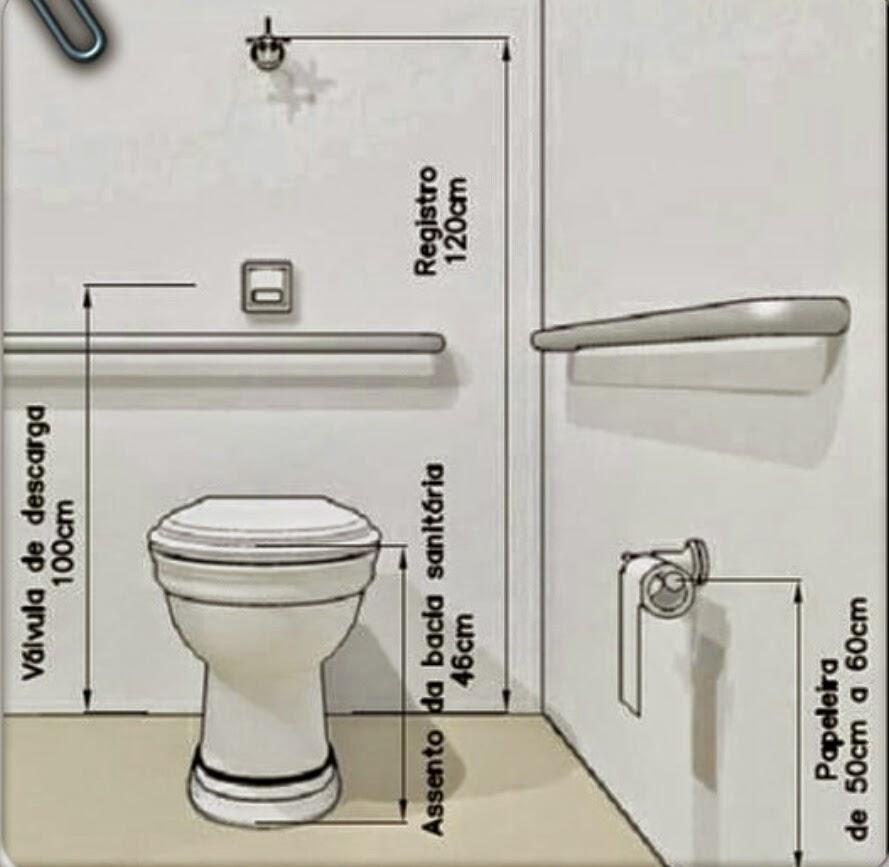 Reforma Relâmpago 11 dicas para fazer um banheiro adaptado para cadeira de r -> Banheiros Simples Para Idosos