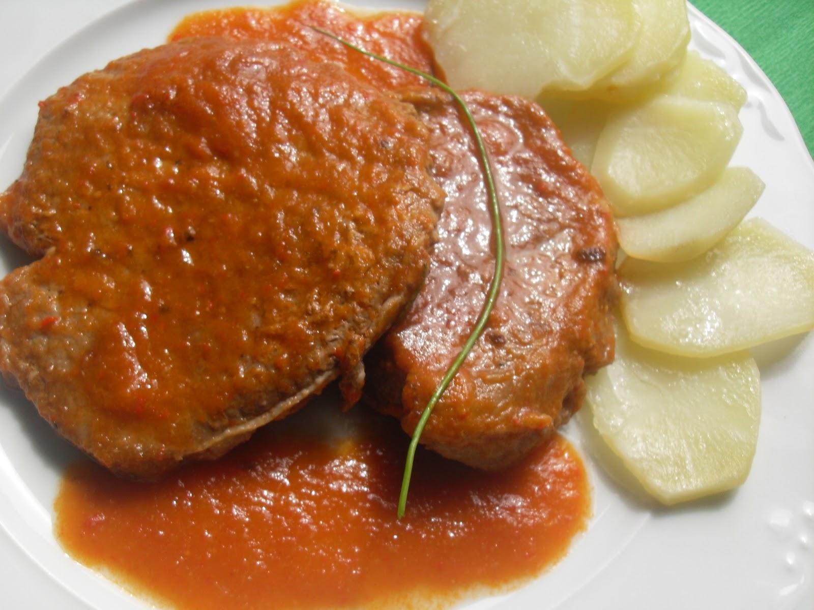 Filetes de ternera en salsa thermomix - Filetes de ternera en salsa de cebolla ...