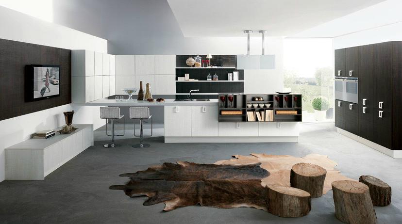 Tendencias de la cocina abierta y multifuncional cocinas for Cocina tipo isla diseno