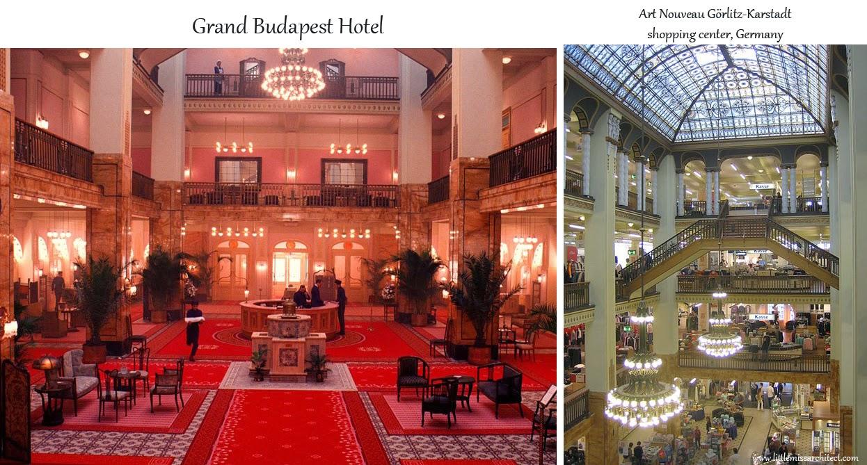 Grand Budapest Hotel, Gorlitz, set design