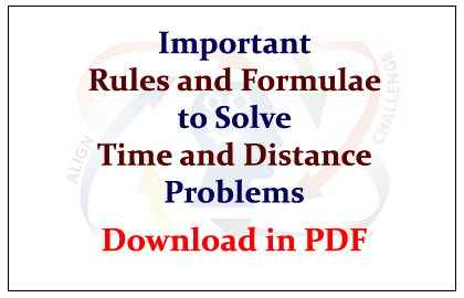 time and distance solved problems