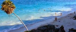 La increíble playa de Tulum
