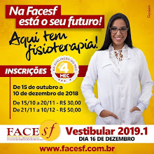 FACESF, Vestibular 2019.9