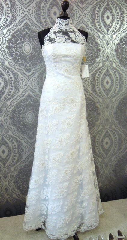 Suknie ślubne Vestido Nowa Koronkowa Suknia ślubna Z Trenem