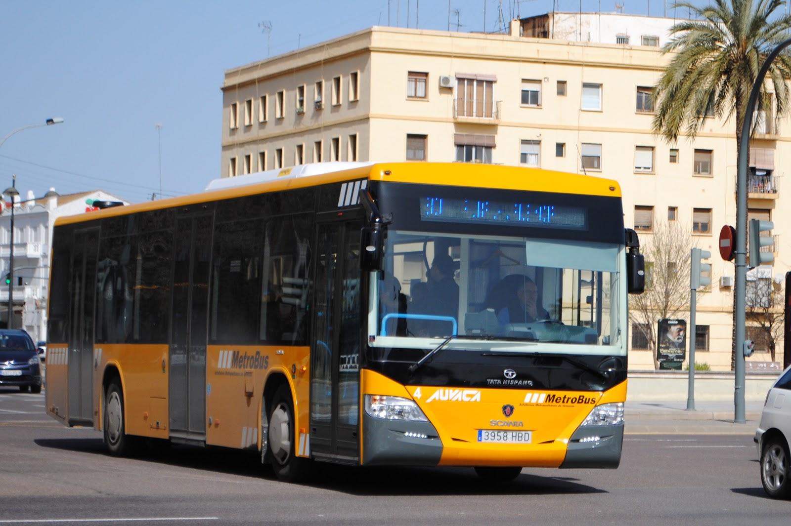 autobuses de valencia auvaca 4 linea metrob s 180