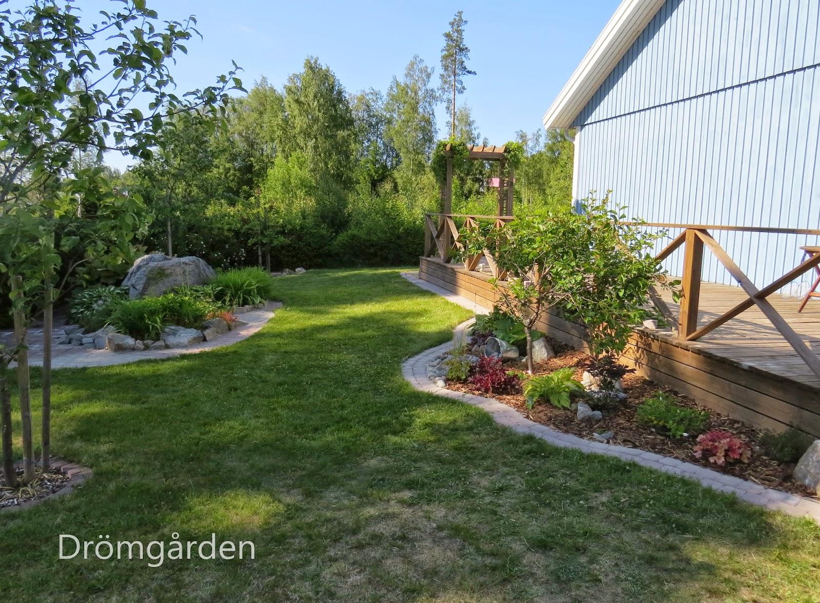 Trädgård Grus : Drömgården Öppen trädgård hos mig