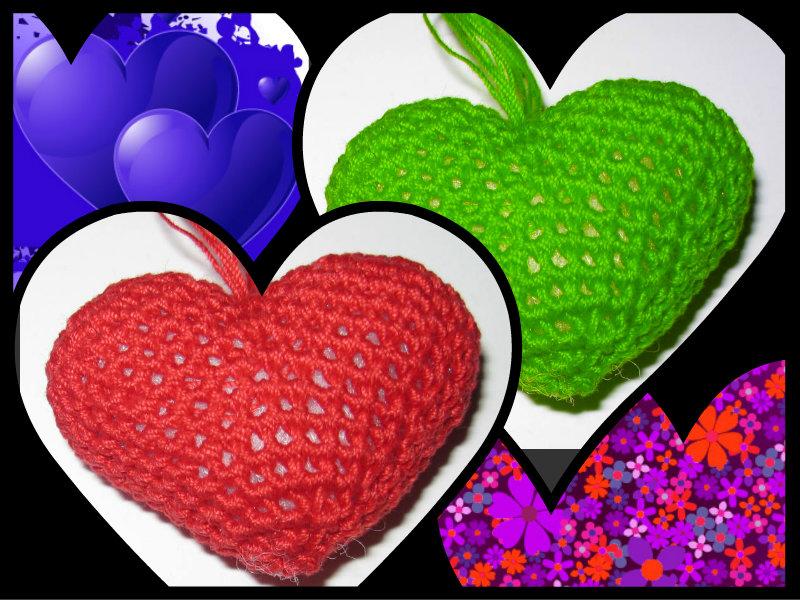 Annarella gioielli tutorial uncinetto cuore amigurumi for Giardino 3d gratis italiano