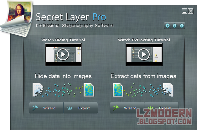 SecretLayer v2.8.1 Pro Full Version - Steganography Software