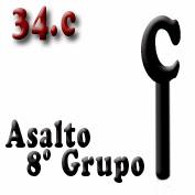 Ejemplo 34.c: Compañía del 8º Grupo de Guardias de Asalto